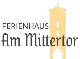 Ferienhaus am Mittertor, hotel v destinácii Kelheim