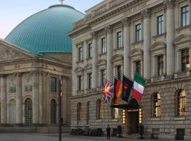 Rocco Forte Hotel De Rome, pet-friendly hotel in Berlin