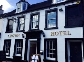The Crown Hotel, hotel en Peebles