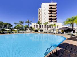 Marques Plaza Hotel, hotel in Pouso Alegre