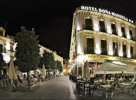 Hotel Doña Manuela, hotel conveniente a Siviglia
