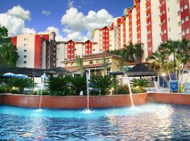 Hot Springs Hotel - Via Conchal, apartamento em Caldas Novas