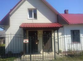 House on Veteranov, apartment in Lesnoy