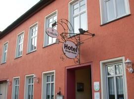 Hotel Bürgerstube, viešbutis mieste Hitcakeris