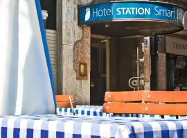 Smart Stay Hotel Station, hotel near Mariensäule, Munich