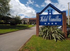 Hotel Comillas, hotel near El Capricho, Comillas