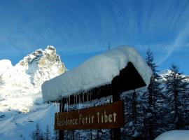 Residence Petit Tibet, serviced apartment in Breuil-Cervinia