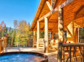 Le Bivouac - Les Chalets Spa Canada, hôtel à La Malbaie près de: T-Bar Ski Lift