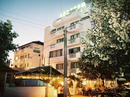 Хотел Левтери, хотел близо до Аквапарк Приморско, Приморско