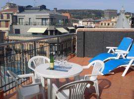 Larramendi Terrace Apartment, hotel cerca de Catedral del Buen Pastor, San Sebastián