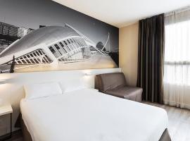 B&B Hotel Valencia Ciudad de las Ciencias, hotel in Valencia