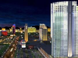 Palms Place Studio with Balcony & Strip View, serviced apartment in Las Vegas