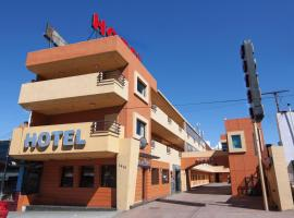 Aqua Rio Hotel, hotel in Tijuana