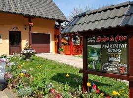 Guest House Ljubo & Ana, hotel near Plitvice Lakes National Park - Entrance 1, Rastovača