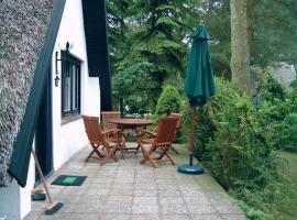 Reetdach-Ferienhaus in Quilitz, vacation home in Rankwitz