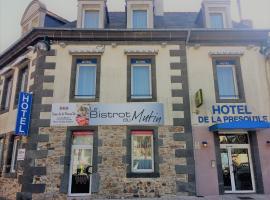 Hôtel de la Presqu'ile, hotel in Crozon