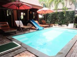 蘭花度假酒店,萊卡邦的飯店
