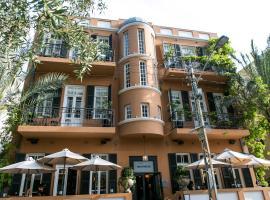 Hotel Montefiore, hotel v destinaci Tel Aviv