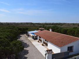 La Parcela, hotel a prop de Delta de l'Ebre, a Riumar