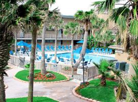 Island House BeachFront Condo Hotel, отель в Корпус-Кристи