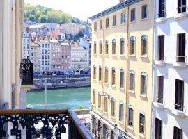 La Suite Terreaux, hôtel à Lyon près de: Fresque des Lyonnais