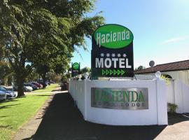 Hacienda Motor Lodge, motel in Palmerston North