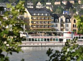Baudobriga Rheinhotel, hotel in Boppard