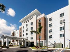 TownePlace Suites by Marriott Miami Homestead, golf hotel in Homestead