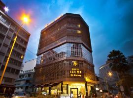 Izumi Hotel Bukit Bintang, hotel near Dinner In The Sky Malaysia, Kuala Lumpur