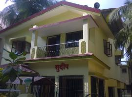 Sudeep Bungalow, beach hotel in Alibaug