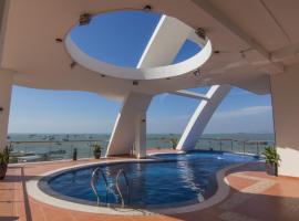 Cassabella Hotel & Apartments, khách sạn có hồ bơi ở Vũng Tàu