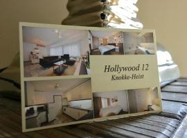 HOLLYWOOD12, apartment in Knokke-Heist