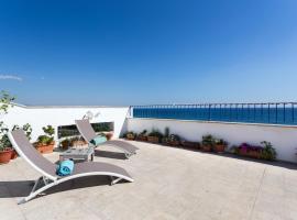 Breathtaking view on Huge Terrace, apartment in Santa Marinella