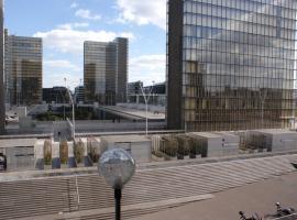 Seine Front Room / Lib. F.Mitterrand, privat indkvarteringssted i Paris