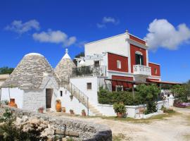 Masseria Trulli sull'Aia, country house in Cisternino