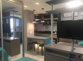 Apartamento decorado e equipado no 27º andar, hotel near Vila Capanema Stadium, Curitiba