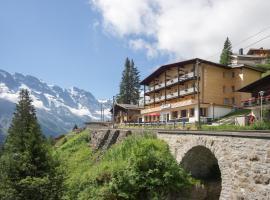 Hotel Alpenblick Mürren, maison d'hôtes à Mürren