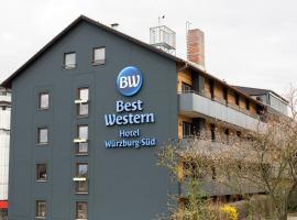 BEST WESTERN Hotel Würzburg-Süd, отель в Вюрцбурге