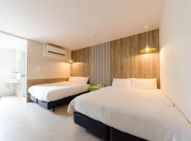 P&E Hotel, hotel in Tainan