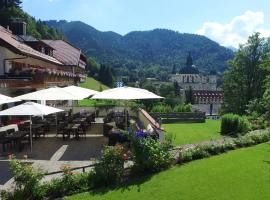 Hotel Blaue Gams ***S, accessible hotel in Ettal