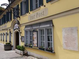 Posthotel Arnold, hotel near Stadthalle, Gunzenhausen