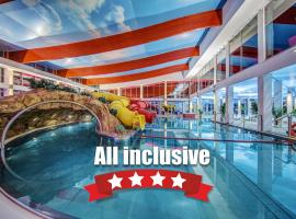 Aquapark Health Resort & Medical SPA Panorama Morska All Inclusive, hotel with jacuzzis in Jarosławiec