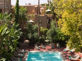 Les Jardins De La Médina, hotel in Marrakesh