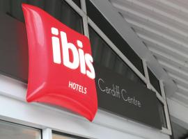 ibis Cardiff Centre, hotel near Wales Millennium Centre, Cardiff