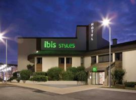 ibis Styles Niort Poitou Charentes, hôtel à Vouillé