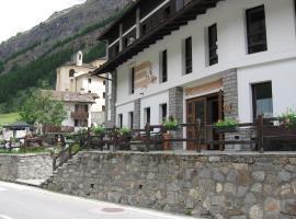 Hotel Parco Nazionale, hotel Valsavarenchében