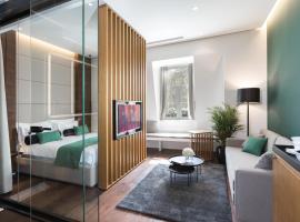 Dominic Smart & Luxury Suites - Parliament: Belgrad'da bir Oda ve Kahvaltı