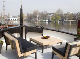 GP Amstel River Houseboat, pet-friendly hotel in Amsterdam