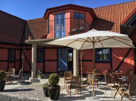 Villa Hasselbacken, hotell i Gärsnäs