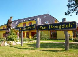 Landhotel zum Honigdieb, Hotel in Ribnitz-Damgarten